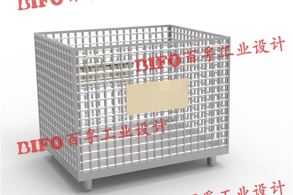 可折叠铁笼